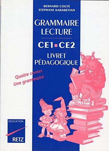 Grammaire et lecture, CE1, CE2, livre du professeur
