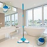 Smart Pro spin scopa leggero cordless spinning scopa per pulizia superfici dure