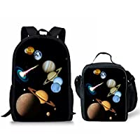 HUGSIDEA Under Animal Printed Children School Bag Blue Kids Backpack