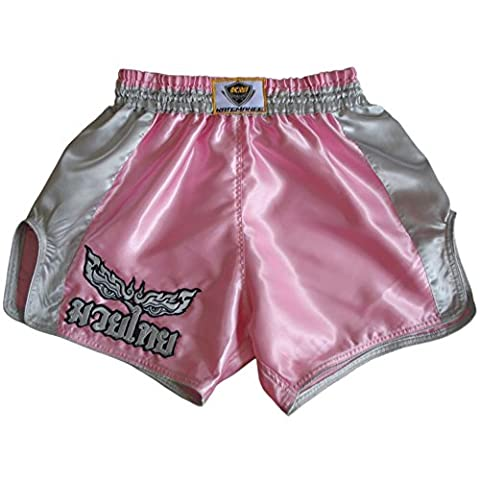 Katemanee Muay Thai Hose Kickboxen MMA Damen Gym Shorts Large (Waist 30