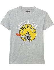 Volcom Cut The Cheese - T-shirt - Uni - Col ras du cou - Manches courtes - Garçon