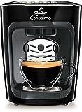 Tchibo Cafissimo mini Kaffeekapselmaschine (für Kaffee, Espresso, Caffé Crema und Tee) schwarz (Mitternachtsschwarz)
