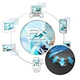 atFoliX Schutzfolie für Fujifilm FinePix XP70 Folie - 3 x FX-Curved-Clear Flexible Displayschutzfolie für gewölbte Displays