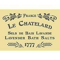 A5/A4/A3 Shabby Chic francés Vintage Mylar plantilla