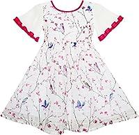 Progettazione controllato il vestito di organza per le ragazze grandi.  Questo simpatico abito uccelli stampa 9a0560a3324