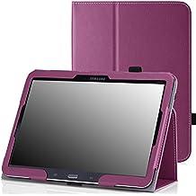 MoKo Samsung Galaxy Tab 4 10.1 / Tab 4 Nook 10.1 2014 Funda - Slim Soporte Funda para Samsung Galaxy Tab4 10.1 Inch Tablet, VIOLETA (Con Cierre Magnético Para Reposo Automático / NO va a caber el Tab 3 10.1)