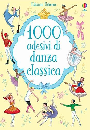 1000 adesivi di danza classica