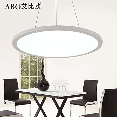 Creative slim LED Lampadari Moderni ufficio minimalista