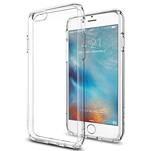Spigen Ultra Hybrid iPhone 6S Case with Air Cushion Technology and Hybrid Drop Protection for iPhone 6S / iPhone 6