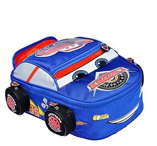 Karp Car Canvas School Bag for Kids