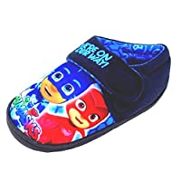 PJ MASKS Navy Blue Slippers with Touch Fastening