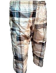 Maletero para hombre estilo informal cool 3/NEW 4 diseño de cuadros pantalones de running para pantalones cortos cool S - XXL carcasa