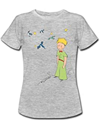 Spreadshirt The Little Prince Travels With Birds Women's T-Shirt