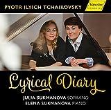 Tchaikovski : Livre de Lieder et mélodies. J. Sukmanova, E. Sukmanova.