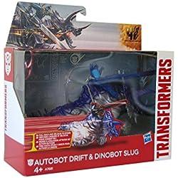 Transformers - Figura Dino Jouster - Autobot Drift & Dinobot Slug (Hasbro A7681)