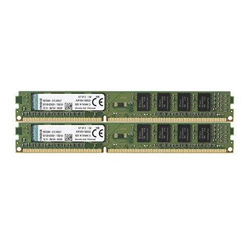 Kingston KVR16N11S8K2/8 Arbeitsspeicher 8GB DDR3-RAM Kit (1600MHz, CL11, 240-polig, 2x 4GB)
