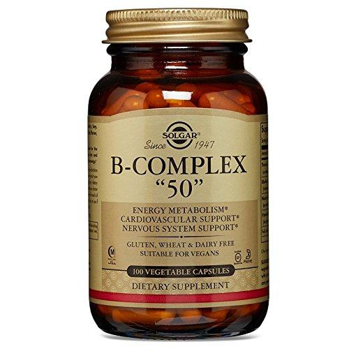 """Solgar Formula Vitamin B-Complex""""50"""" Vegetable Capsules - 100 Vegicaps Test"""