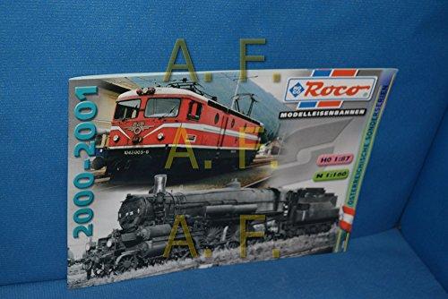 Roco Miniatur Modell HO 1 : 87, TT 1 : 120, N 1 : 160, Katalog