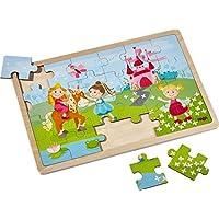 Holzpuzzle Prinzessinnen | Zauberhaftes Kinderpuzzle und Motorikspielzeug ab 3 Jahren | Tolle Geschenkidee preisvergleich bei kleinkindspielzeugpreise.eu