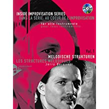 Melodische Strukturen: Vol. 1. Melodie-Instrumente (C, B, Es, Bass-Schlüssel). Lehrbuch mit CD