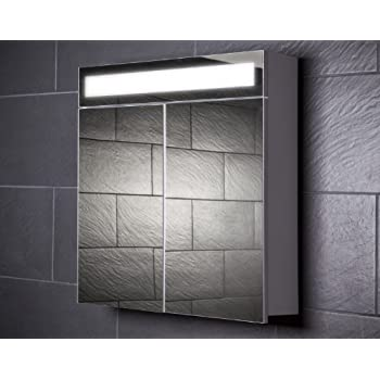 Galdem START70 Spiegelschrank, holz, 70 x 70 x 15 cm, weiß: Amazon ... | {Spiegelschrank holz weiß 30}