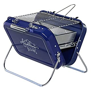 Gentlemen's Hardware Large Portable BBQ | Blue