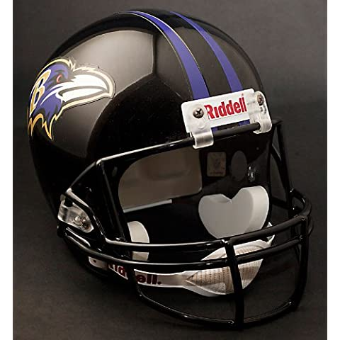 BALTIMORE RAVENS NFL Riddell Full Size REPLICA Football Helmet by Unknown