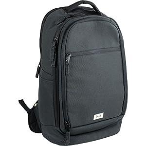 FORVERT Conny Unisex Backpack eleganter Daypack,Rucksack mit 15 Zoll Laptopfach,Innen- und Seitentasche,versteckter Boardcatcher