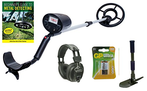 Visua-Lightweight-Discriminating-Metal-Detector-with-Large-Waterproof-Concentric-Search-Coil-Detector-Kit-HPhones-Batts-Pick-Guide