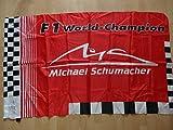 Michael Schumacher Ferrari Fahne Logo 100x140 cm