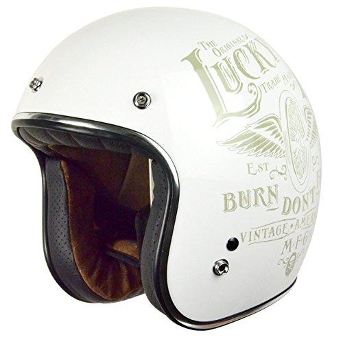 Origine Helmets Origine Primo Flying Wheel Gloss white, Bianco, Taglia XXL