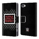 Head Case Designs Offizielle WWE John Cena Beware of Dog 2018/19 Superstars 5 Brieftasche Handyhülle aus Leder für Sony Xperia Z5 Compact