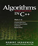 Algorithms in C++: Fundamentals, Data Structures, Sorting, Searching Pts. 1-4