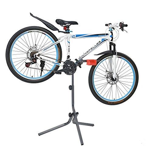 [neu.haus] Fahrrad Montageständer aus Metall 360° Verstellbar Reparaturständer Fahrradständer 72 x 27 x 8cm Rad Montage