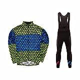 Uglyfrog 2018 M50 Neue Männer Radfahren Langarm Radfahren Jersey Road Bike MTB Top + Lange Hose mit Gel PAD Langarm Winter with Fleece Bike Set