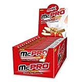 Amix Max-Pro Protein Bar Barrita Energética con Sabor a Frambuesa y Yogur - Paquete de 24 x 35...