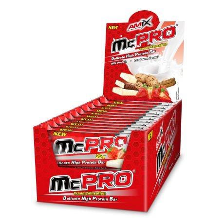 Amix Max-Pro Protein Bar Barrita Energética con Sabor a Cookie - Paqu