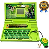 Ben 10 English Learner Kids Educational Laptop By Cora, Comes With Mouse,20 Activities And Games In It. Best For Growing Kids And Best Way To Learn Something With Graphics.
