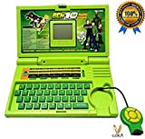 #5: Ben 10 English Learner Kids Educational Laptop By Cora, Comes with mouse,20 activities and games in it. Best for growing kids and best way to learn something with graphics.