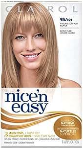Clairol Coloration de longue durée Nice 'n Easy - Couleur 102 - Blond clair cendré naturel