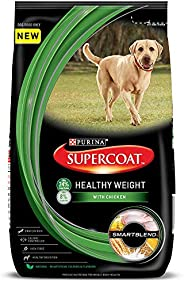 Purina Supercoat Healthy Weight Dry Dog Food - 3 kg Pack