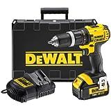 DeWalt 18V Xr Li-ion 2-Speed Combi Drill with 1 x 3Ah Battery