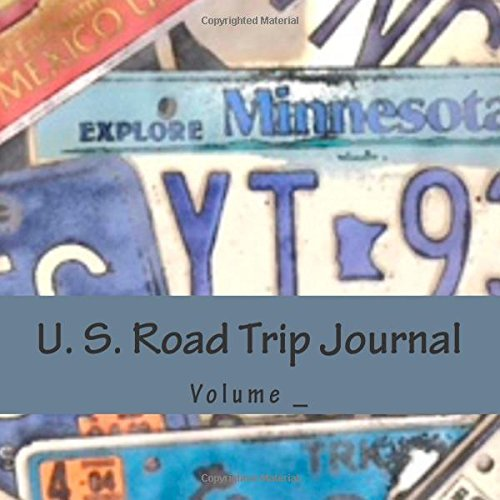 U. S. Road Trip Journal: Minnesota Cover (S M Road Trip Journals)