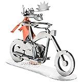 Metall-ART Design Motorrad Biker Elch