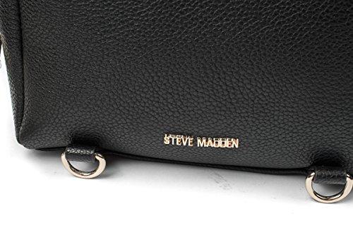 Steve Madden Borse BSARAH Black DIM.23X20X10 PE18 Nero
