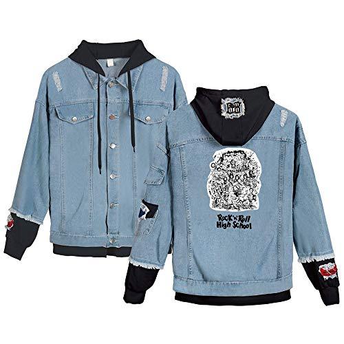SQQZ Hoodie Hoodies für Damen Sweatshirt Lady Girl Coat Manteljacke Jeansjacke Jumper Unisex, Mode gedruckt Sänger Band Grafik Sweatshirts mit Kapuze