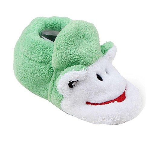 Estilo De Bebê De Sola Do Moda Sapatilhas Sapatos Rastejando De Sapatos Bebê Suaves Verde Ouneed® wIpvXYI