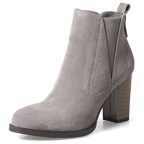 [Autunno e l'inverno stivali in pelle nabuk]/Stivali da pioggia/ scarpe casual-C Lunghezza piede=22.8CM(9Inch)