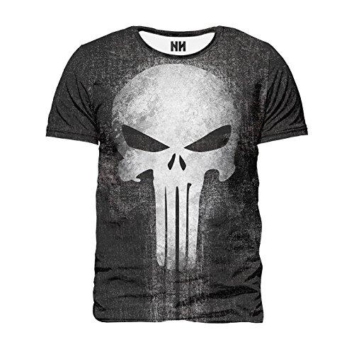 Noorhero - Camiseta de Hombre - The Punisher