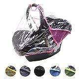BAMBINIWELT Regenschutz, Regenverdeck für Babyschale MAXI COSI Cabrio-Fix, Citi, Pebble (pink)